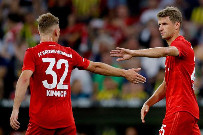 Bayern sở hữu nhiều cầu thủ có khả năng ghi bàn hay kiến tạo rất tốt như Kimmich hay Mueller