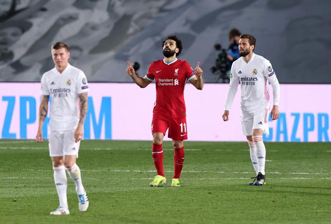 Bàn thắng trên sân khách của Salah là điểm tựa để Liverpool hy vọng ngược dòng
