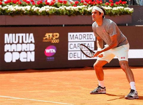 Federer thua Dominic Thiem ở tứ kết Madrid Open 2019
