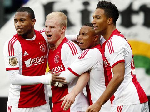 Ajax đang có mạch 10 trận bất bại trên sân nhà, trong đó thắng tới 9 trận