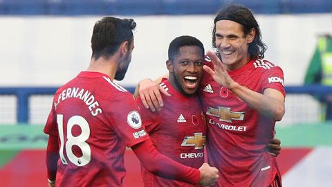 Man United đã bất bại 13/14 trận gần nhất trên sân khách