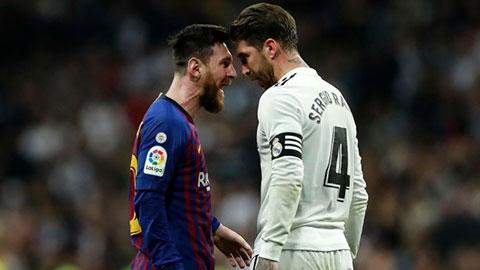 Ramos thừa nhận nếu không có Messi, Real có thể vô địch nhiều hơn