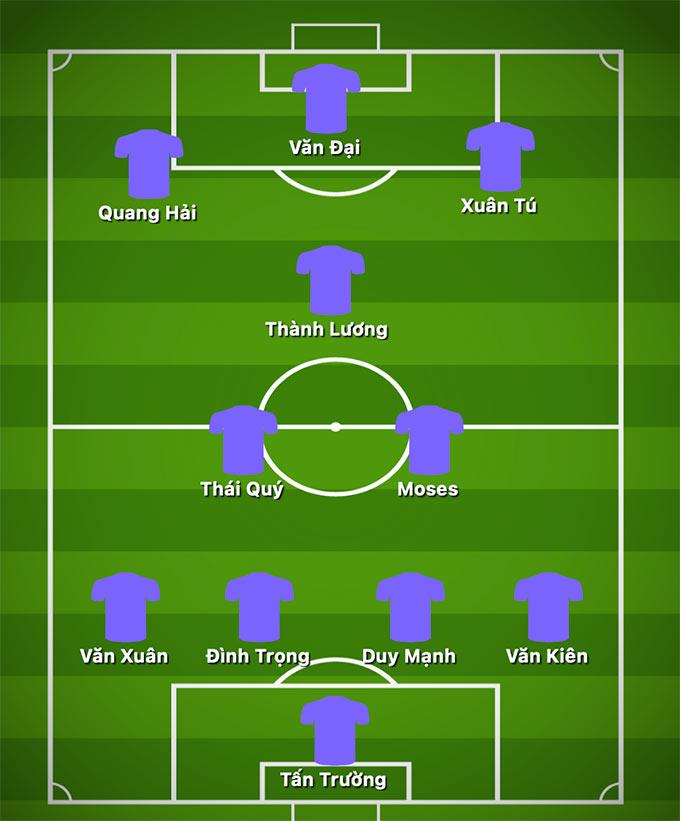 Đội hình 1 của Hà Nội FC hiện tại là mơ ước của nhiều đội bóng, dù họ đã thiếu đi nhiều ngôi sao