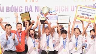 Giải bóng đá nữ U19 Quốc gia 2021 khép lại thành công
