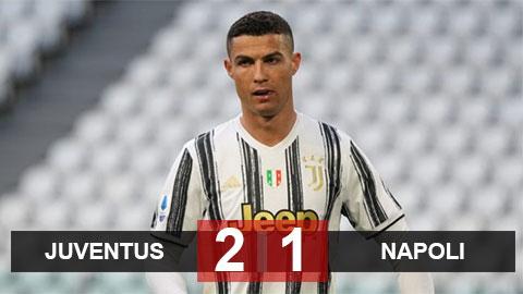 """Juventus 2-1 Napoli: """"Lão bà"""" thắng trở lại"""