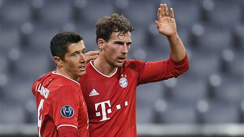 Bayern nguy cơ vắng cả Lewandowski, Goretzka & Sule ở lượt về gặp PSG