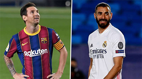 Benzema bất ngờ khen Messi trước El Clasico