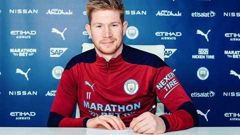 Vì sao Kevin De Bruyne ký hợp đồng mới với Man City?
