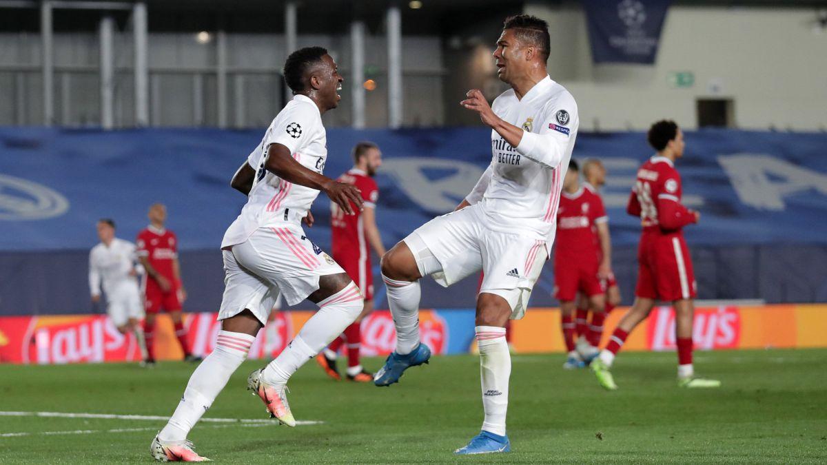 Vắng 3 trong 4 trụ cột nhưng Real Madrid đã đánh bại Liverpool 3-1 ở trận tứ kết lượt đi Champions League