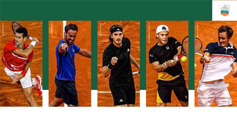 5 mối đe dọa lớn nhất của Nadal ở Monte Carlo Masters 2021