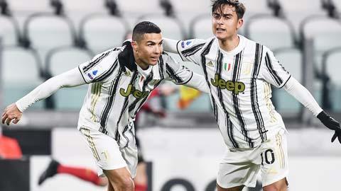 Ronaldo đang gồng lên đua Vua phá lưới với Lukaku