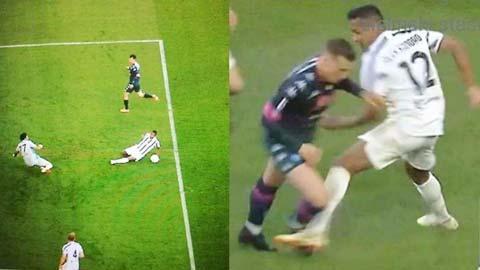 Juve và Inter cùng hưởng lợi từ trọng tài