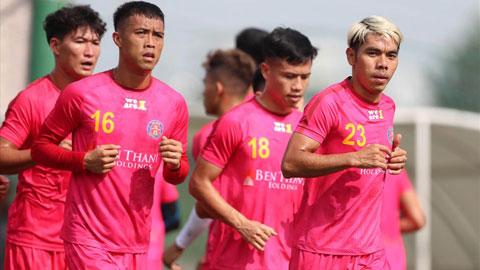 Kết quả Sài Gòn FC 0-0 Hải Phòng: Mất người, Sài Gòn vẫn chia điểm với đội khách