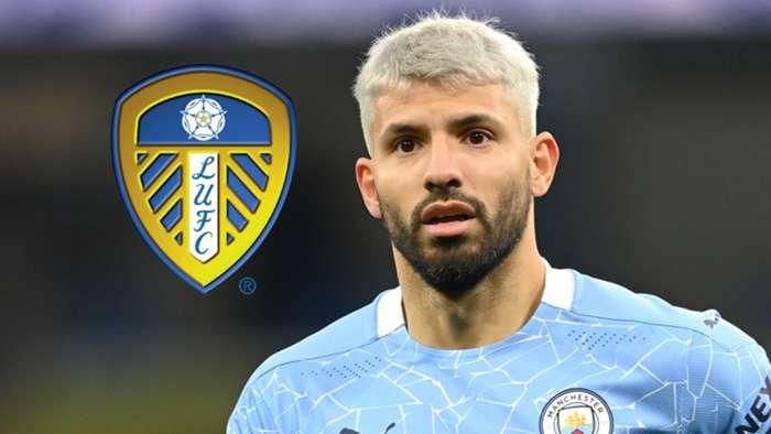 Aguero có thể chuyển sang Leeds