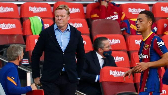 Koeman đang dần lấy được niềm tin tại Barca