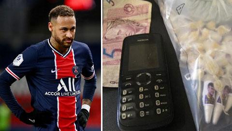 Neymar bị lợi dụng tên tuổi để buôn ma túy