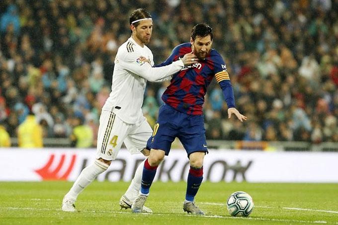 Không có Ramos, không khán giả ở trận El Clasico đêm nay