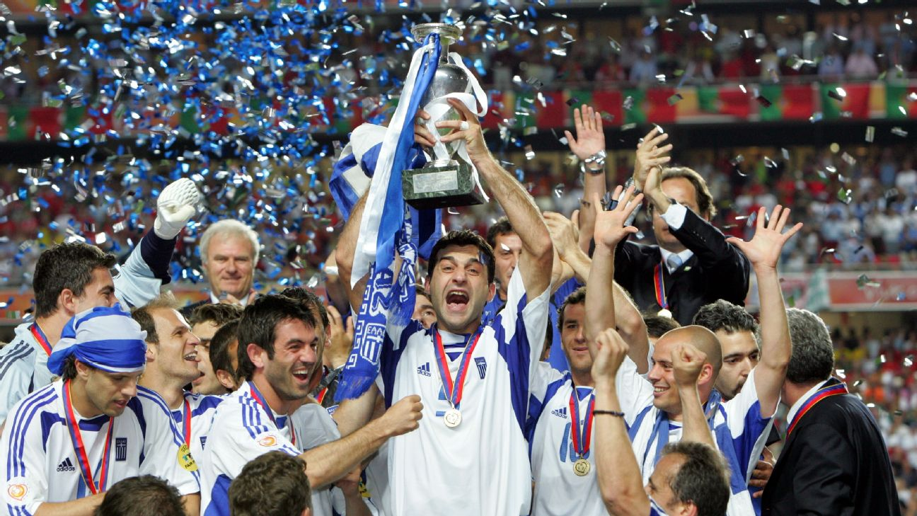 Chức vô địch EURO 2004 của Hy Lạp được coi là kỳ diệu hơn chức vô địch EURO 1992 của Đan Mạch