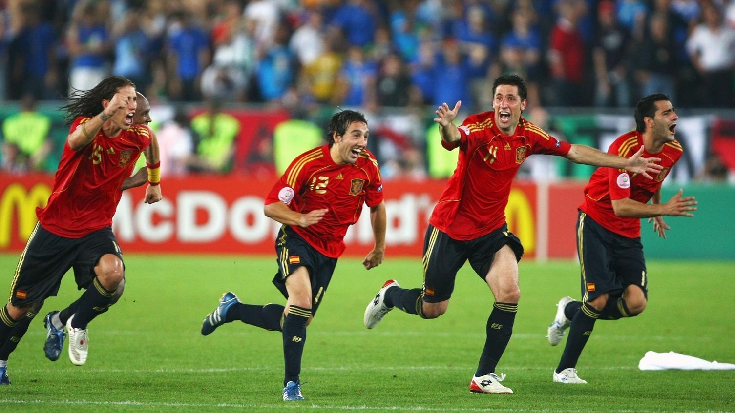 Một thời đại Tây Ban Nha thống trị đã được mở ra từ EURO 2008