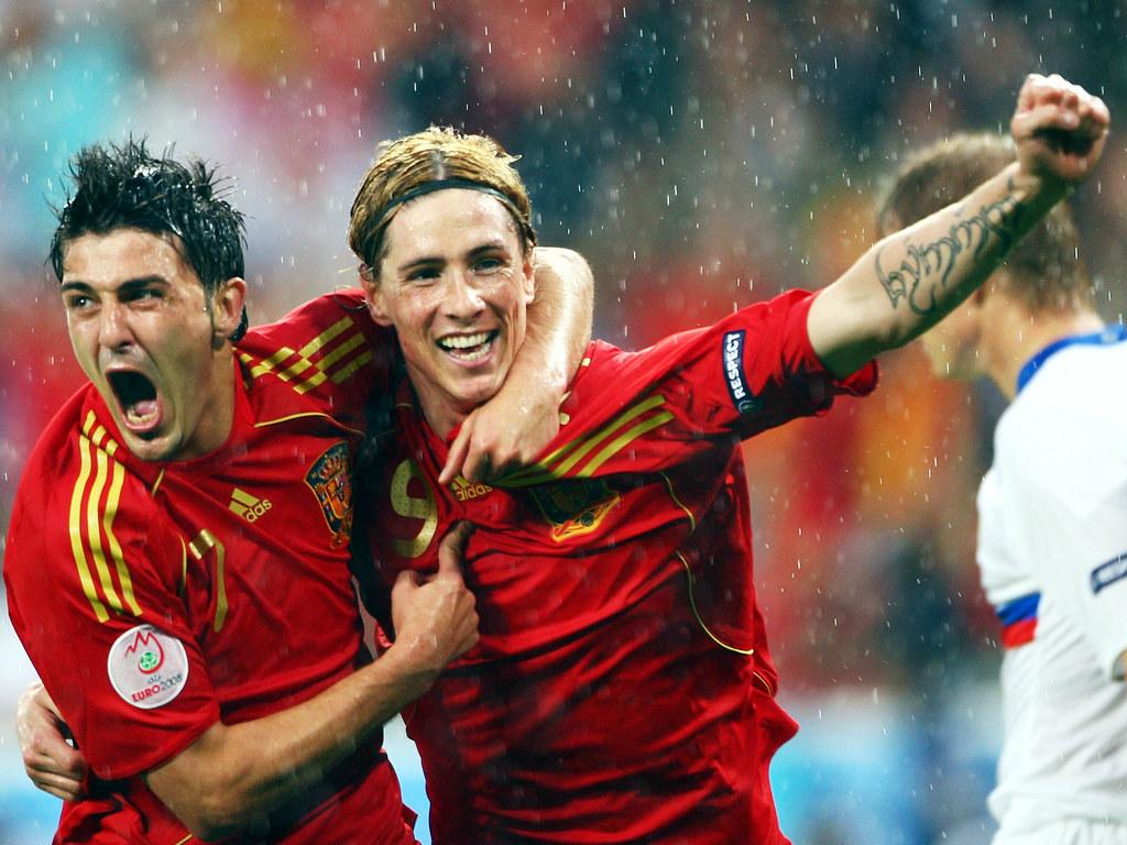 Thế hệ những ngôi sao trẻ như Villa và Torres đã thay thế lớp cựu binh