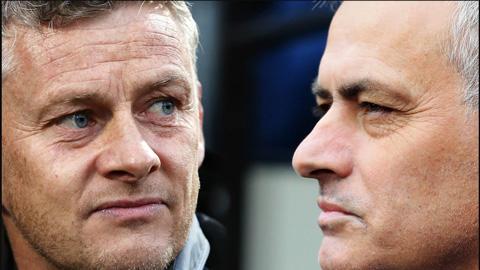 Mourinho và Solskjaer cà khịa nhau trước đại chiến Tottenham vs MU