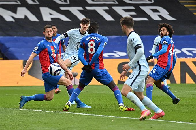 Crystal Palace vs Chelsea: Havertz và Pulisic đưa The Blues trở lại Top 4