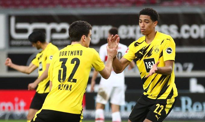 Reyna và Bellingham tỏa sáng để góp công giúp Dortmund có chiến thắng
