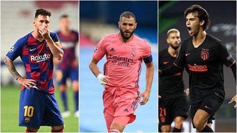 Lịch thi đấu còn lại của Barca, Real và Atletico thế nào sau trận El Clasico?