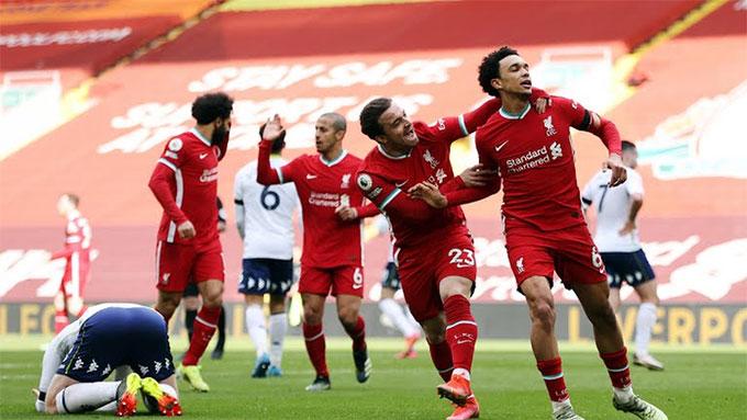 Liverpool đã cắt được chuỗi 8 trận không thắng liên tiếp ở Anfield tại Premier League