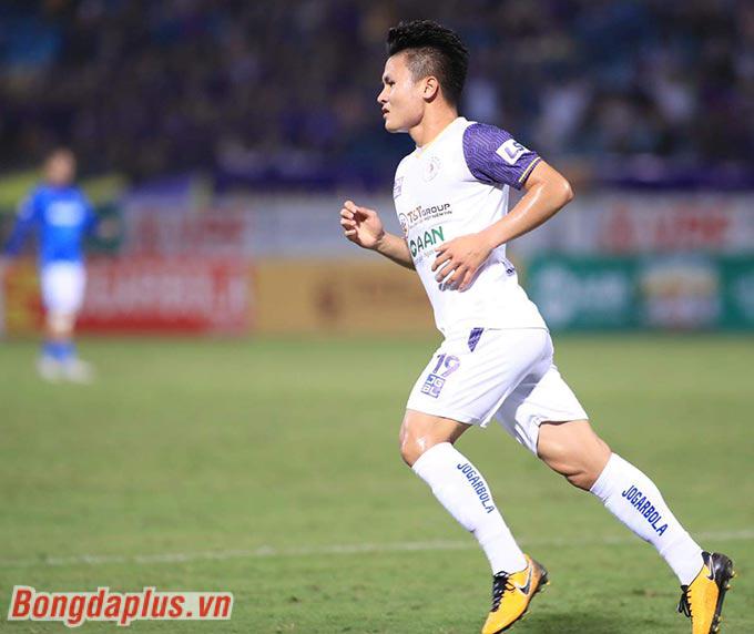 Hà Nội FC tạm thoát khỏi khủng hoảng - Ảnh: Phan Tùng