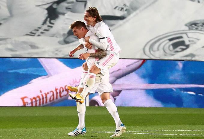 Kroos và các thành viên Real đã có trận đấu hay trước Barca