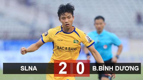Kết quả SLNA 2-0 B.BD: Văn Đức toả sáng, Tiến Linh sút trượt penalty