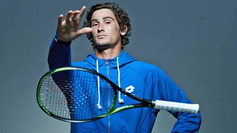 """Với những tay vợt ít nổi tiếng như Harris, bài toán """"đầu tiên"""" rất đau đầu"""