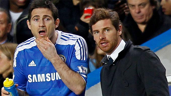 Cả 2 HLV Lampard và Andre Villas-Boas đều bị BLĐ Chelsea sa thải
