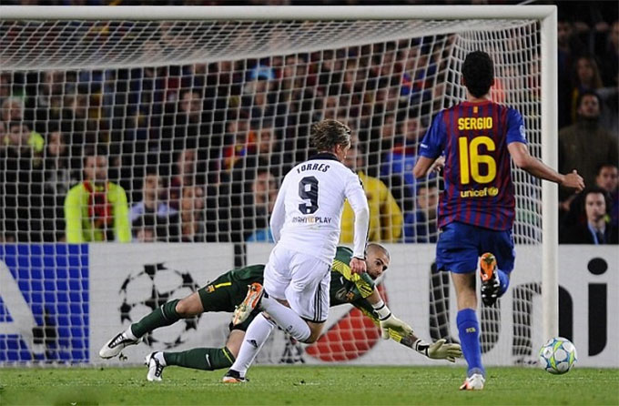 Torres ghi bàn giúp Chelsea hòa Barca 2-2