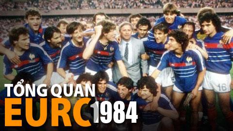 EURO 1984 cúi mình chào huyền thoại Michel Platini