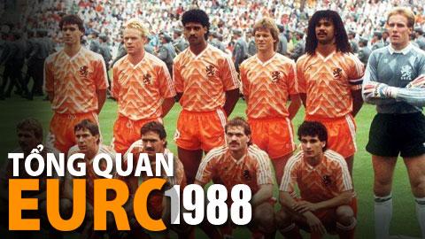 EURO 1988 ngất ngây cùng Cơn lốc Da Cam