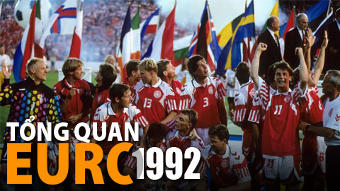 EURO 1992 kể mãi câu chuyện cổ tích Đan Mạch
