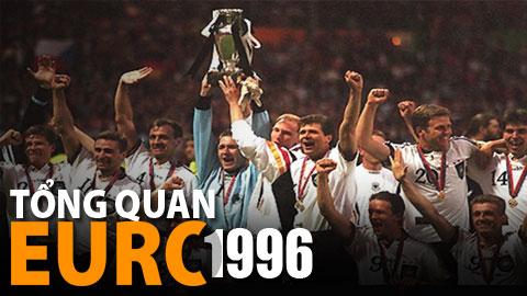 EURO 1996 và sự trở lại của đại bàng Đức