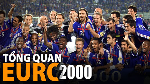 EURO 2000 tuyệt hay và ĐT Pháp cực may