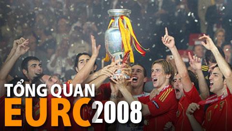 EURO 2008 khởi đầu cho sự thống trị của Tây Ban Nha