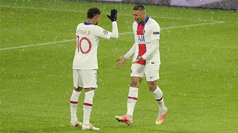 PSG tái đấu Bayern: Khi Neymar và Mbappe hòa chung một nhịp