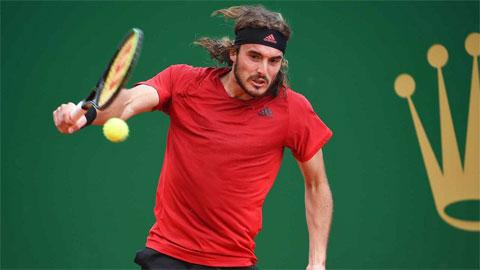 Stefanos Tsitsipas vào vòng ba Monte Carlo Masters 2021