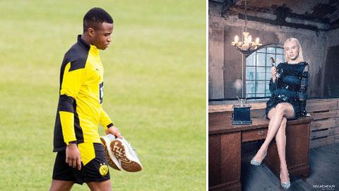 Sao trẻ Dortmund bị cảnh sát 'sờ gáy' vì nhốt bạn gái