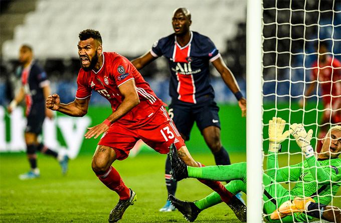 Choupo-Moting ghi bàn duy nhất trận đấu PSG vs Bayern ở phút 40