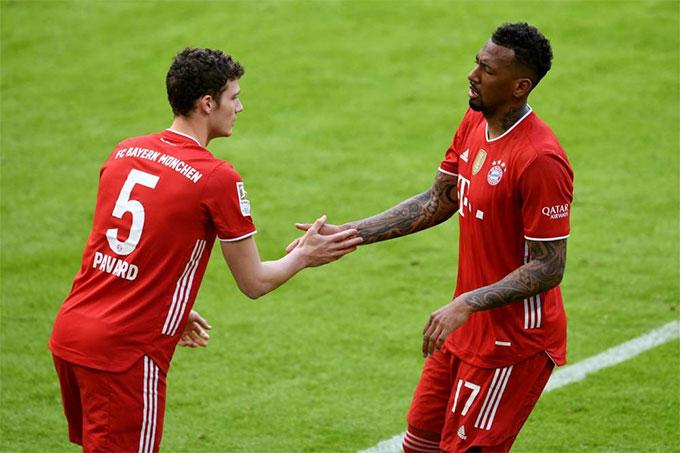 Boateng đang chơi mùa giải cuối cùng cho Bayern