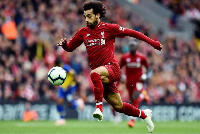 Salah là cỗ máy bền bỉ của Liverpool