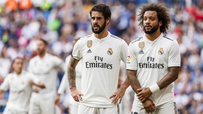 Isco hay Marcelo đều gây thất vọng trong mùa giải này