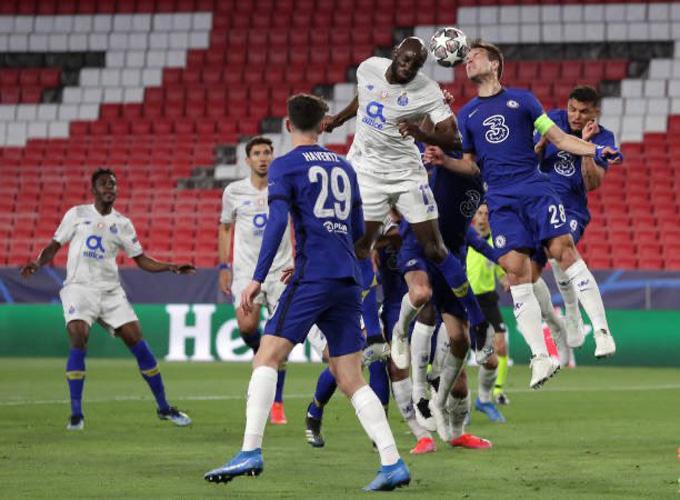 Hiệp 1 trận đấu Chelsea vs Porto diễn ra khá chặt chẽ và không có bàn thắng nào được ghi