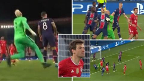 Trọng tài mắc sai lầm ngớ ngẩn ở trận PSG vs Bayern